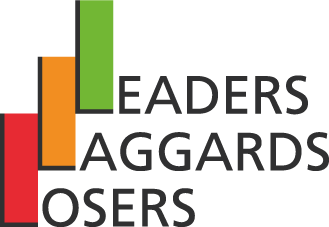 Leaders, Laggards and Losers logo